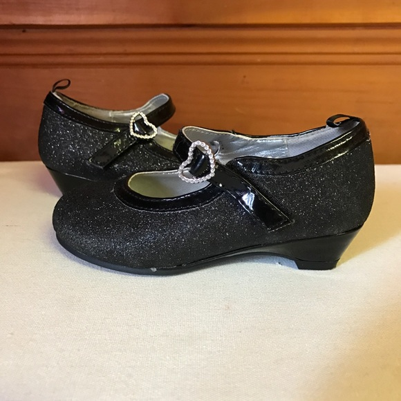 bc1036ecb287 George Other - Black Sparkly Dress Shoes